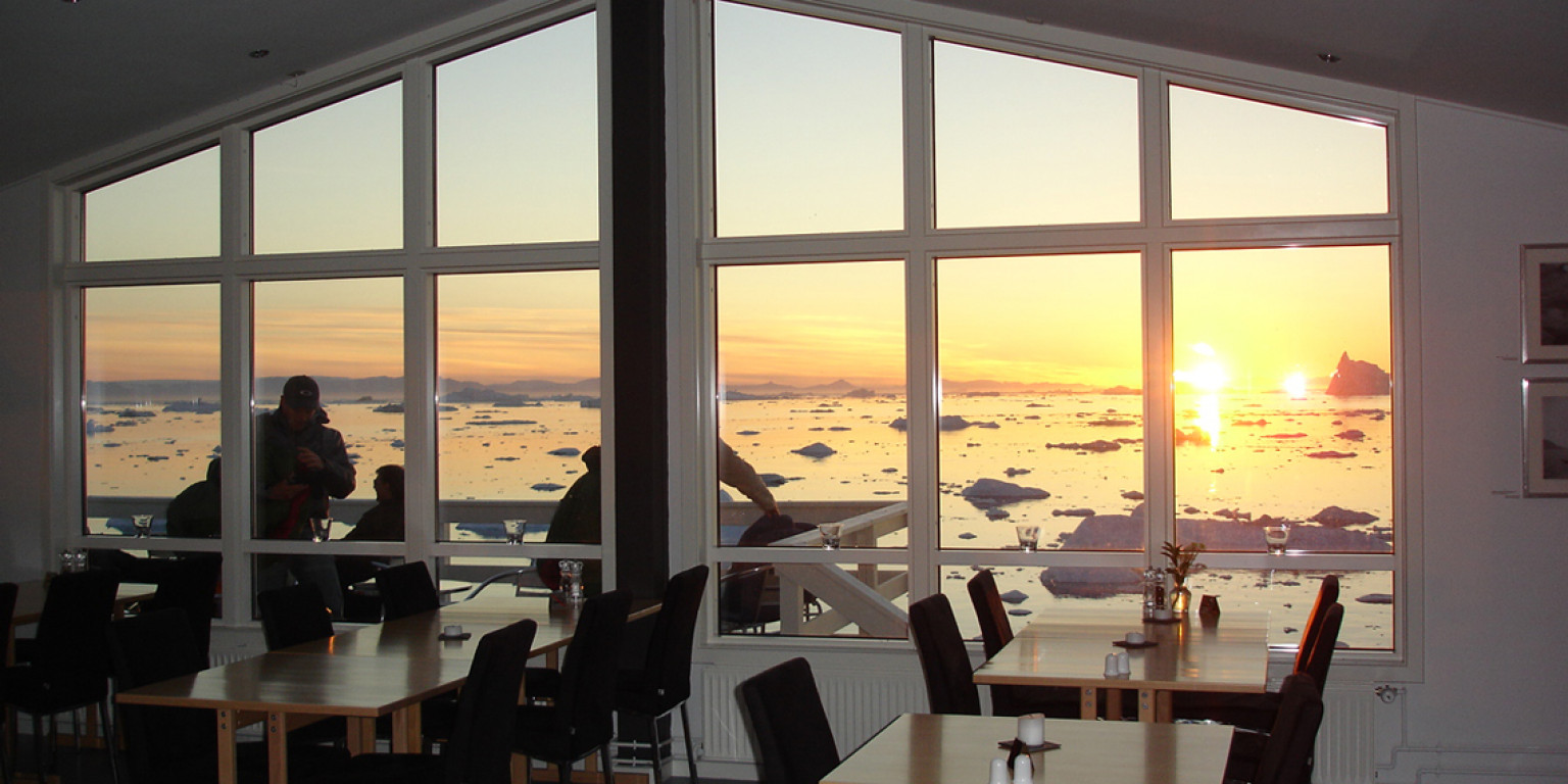 Nancy in Greenland - extra nights at Hotel