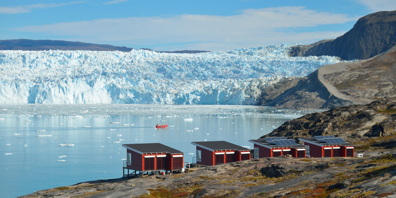 Glacier Lodge Eqi, Whales, Icecap and Ilulissat