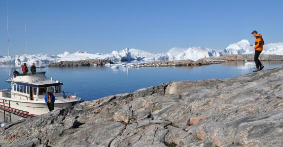Highlights of Diskobay, Greenland - 2020