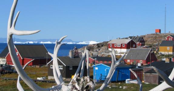 Disko, bygder og Ilulissat