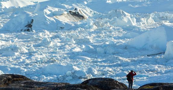 Diskobugten - Grønland, efterår
