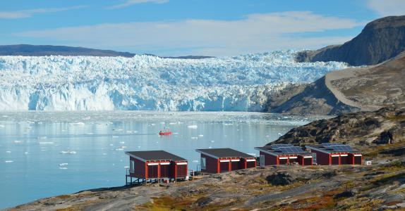 Glacier Lodge Eqi & Ilulissat, dep. Thursday