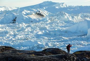 Diskobay, Greenland - Autmn